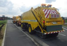 道路側溝及び道路清掃